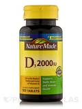 Vitamin D3 2000 IU 100 Tablets