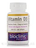 Vitamin D3 2000 IU 180 Softgels