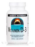 Vitamin D-3 2000 IU - 200 Capsules