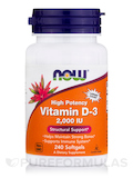 Vitamin D-3 2000 IU (High Potency) - 240 Softgels