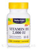Vitamin D3 2000 IU (Lanolin) - 120 Softgels