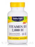 Vitamin D3 2000 IU - 360 Softgels
