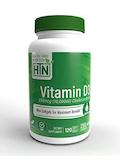 Vitamin D3 250 mcg (10,000 IU) Cholecalciferol - 120 Softgels