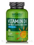 Vitamin D3 2500 IU - 180 Vegetarian Capsules