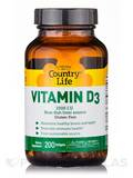 Vitamin D3 2500 IU 200 Softgels