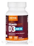 Vitamin D3 400 IU - 100 Softgels