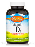 Vitamin D3 4,000 IU 360 Soft Gels