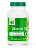 Vitamin D3 50 mcg (2,000 IU) Cholecalciferol - 365 Softgels