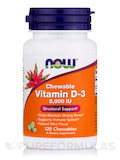 Vitamin D-3 5000 IU (Chewable) - 120 Chewables