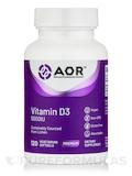 Vitamin D3 5000 IU - 120 Vegetarian Softgels
