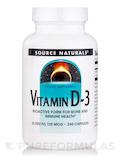 Vitamin D-3 5000 IU - 240 Capsules