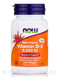 Vitamin D-3 5000 IU (High Potency) - 240 Softgels
