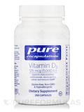 Vitamin D3 5,000 IU 250 Capsules