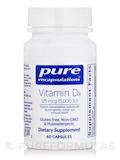 Vitamin D3 5,000 IU 60 Capsules