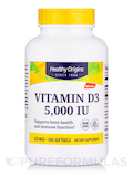 Vitamin D3 5000 IU (Lanolin) - 540 Softgels