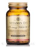 Vitamin D3 (Cholecalcifederol) 5000 IU - 120 Vegetable Capsules