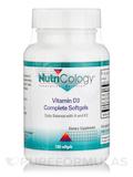 Vitamin D3 Complete 2000 IU - 120 Softgels