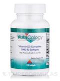 Vitamin D3 Complete 5000 IU - 120 Softgels