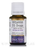 Vitamin D3 Drops 1000 IU 0.5 oz (15 ml)