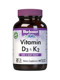 Vitamin D3 + K2 - 60 Vegetable Capsule
