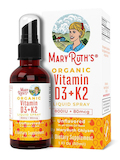 Vitamin D3 + K2 Liquid Spray, Unflavored - 1 fl. oz (30 ml)