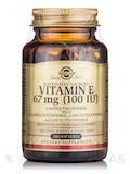 Vitamin E 67 mg (100 IU) - 100 Softgels