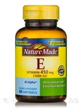 Vitamin E 1000 I.U. - 60 Liquid Softgels