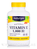Vitamin E 1000 IU (Natural) Mixed Tocopherols - 120 Softgels