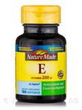 Vitamin E 200 IU - 100 Softgels