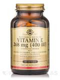 Vitamin E 268 mg (400 IU) (d-Alpha Tocopherol & Mixed Tocopherols) - 100 Softgels