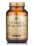 Vitamin E 268 mg (400 IU) (d-Alpha Tocopherol & Mixed Tocopherols) - 100 Softgels