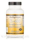 Vitamin E 400 IU (Natural) Mixed Tocopherols 180 Gels