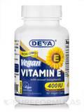 Vegan Vitamin E 400 IU with Mixed Tocopherols - 90 Vegan Capsules