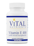 Vitamin E 400 IU with Mixed Tocopherols - 100 Softgels