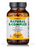 Vitamin E Complex with Mixed Tocopherols 400 IU - 180 Softgels