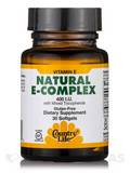Vitamin E Complex with Mixed Tocopherols 400 IU 30 Softgels