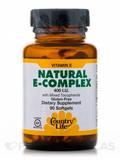Vitamin E Complex with Mixed Tocopherols 400 IU 90 Softgels
