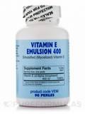 Vitamin E Emulsion 400 90 Perles