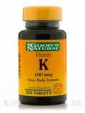 Vitamin K 100 mcg 100 Tablets