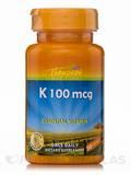 Vitamin K 100 mcg - 30 Capsules