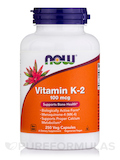 Vitamin K-2 100 mcg - 250 Veg Capsules