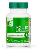 Vitamin K2 + D3 - 60 VegeCaps