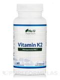 Vitamin K2 (Menaquinone MK7) 200 ug - 365 Vegan Tablets