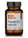 Vitamin K2 with D3 - 60 Capsules