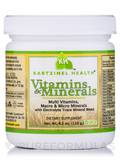 Vitamins and Minerals - 4.2 oz (120 Grams)