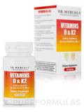 Vitamins D & K2 (5000 IU / 180 mcg) - 30 Capsules