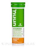 Vitamins - Effervescent Vitamin Supplement, Grapefruit Orange Flavor - 1 Tube of 12 Tablets