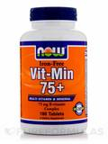 Vit-Min 75+ (Iron-Free) 180 Tablets