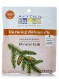 Warming Balsam Fir Mineral Bath Salts (Soothing Heat) - 2.5 oz (70.9 Grams)