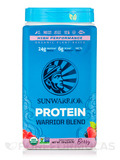 Warrior Blend (Plant-Based Organic Protein, Berry Flavor) - 35.2 oz (1000 Grams)